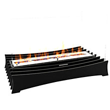 Buy Decoflame® Ascot Lux 600 Fire, Black Online at johnlewis.com