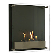 Buy Decoflame® Atlantic Tower Bioethanol Fire, Black Online at johnlewis.com