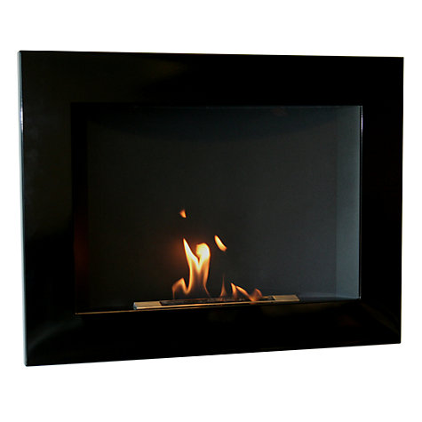 Buy Decoflame® San Diego Bioethanol Fire, Black Online at johnlewis.com
