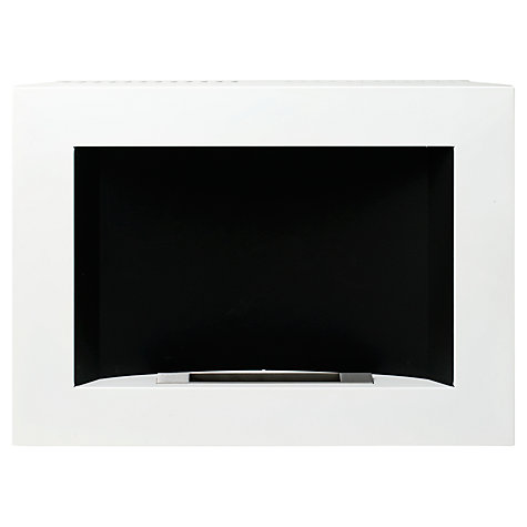 Buy Decoflame® San Diego Bioethanol Fire, White Online at johnlewis.com