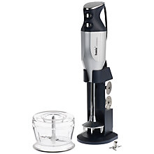 Buy Bamix DeLuxe Stick Blender, Silver Online at johnlewis.com