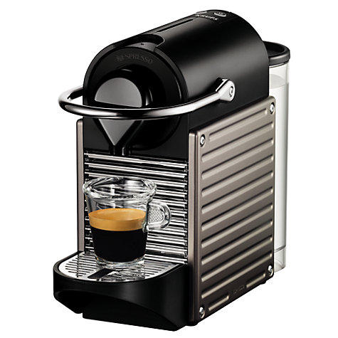 Buy Nespresso Pixie Automatic Coffee Machine by KRUPS Online at johnlewis.com