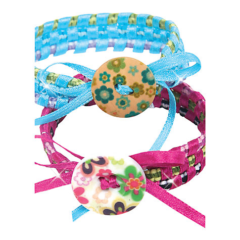 Buy Fashion Angels Style Me Up! Silk Friendship Bands Kit Online at johnlewis.com