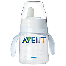 Buy Philips Avent Baby Bottle to First Trainer Cup Online at johnlewis.com