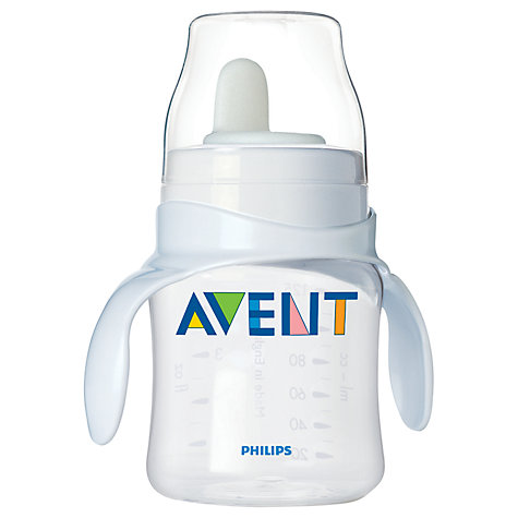 Buy Philips Avent Bottle to First Trainer Cup Online at johnlewis.com