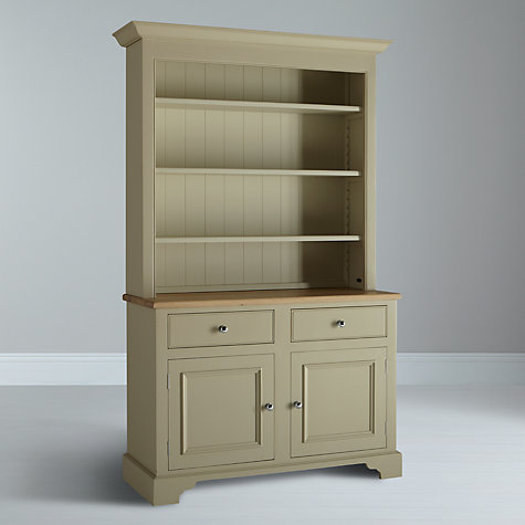 Buy Neptune Chichester 4ft Open Rack Dresser, Limestone Online at johnlewis.com