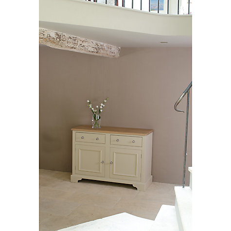 Buy Neptune Chichester 4ft 2 Door Sideboard, Limestone Online at johnlewis.com