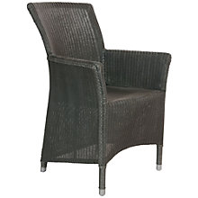 Buy Neptune Havana Lloyd Loom Armchair, Slate Online at johnlewis.com