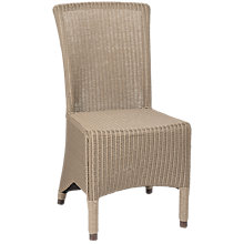 Buy Neptune Havana Lloyd Loom Chair, Lead Light Online at johnlewis.com