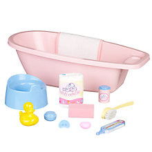Buy John Lewis Doll's Bathtub Online at johnlewis.com