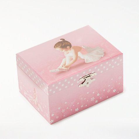 Buy john lewis ballerina musical jewellery box small online at