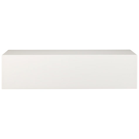"Buy Spectral BR1201SNG TV Stand for TVs up to 60"", White Online at johnlewis.com"