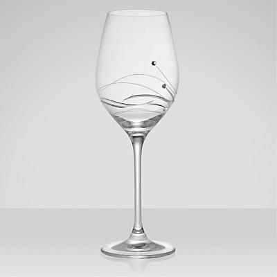 Dartington Crystal Glitz Wine Glasses, 0.33L, Set of 2