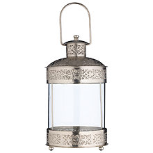 Buy John Lewis Filigree Rim Storm Lantern Online at johnlewis.com