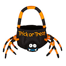 Buy John Lewis Spider Trick Or Treat Bag Online at johnlewis.com