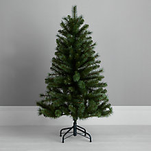 Buy John Lewis Fireside Mixed Tip Christmas Tree, Green, 4ft Online at johnlewis.com