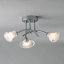 Buy John Lewis Stefan Semi Flush Ceiling Light Online at johnlewis.com