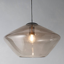 Buy John Lewis Soren Glass Ceiling Light, Large Online at johnlewis.com