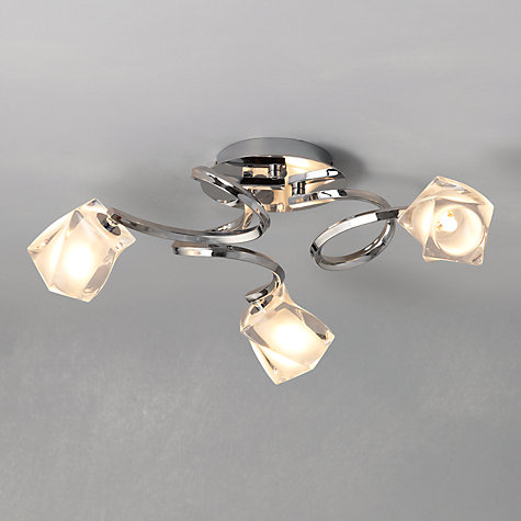 Buy john lewis nembus semi flush ceiling light online at johnlewis com
