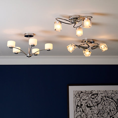 Buy John Lewis Nembus Semi Flush Ceiling Light Online at johnlewis.com