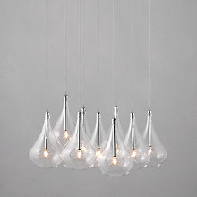 Buy John Lewis Jensen Dangle Cluster Ceiling Lights, x9 Lights Online at johnlewis.com