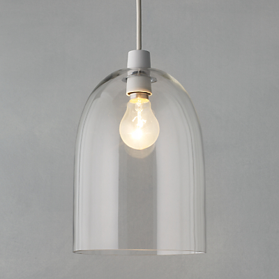 John Lewis Easy-to-fit Madison Glass Pendant Shade