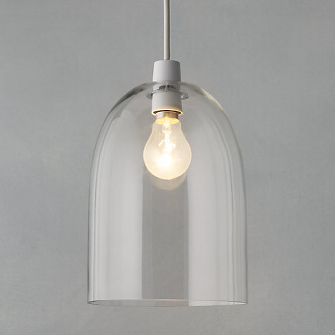 Buy John Lewis Easy-to-fit Madison Glass Pendant Shade Online at johnlewis.com