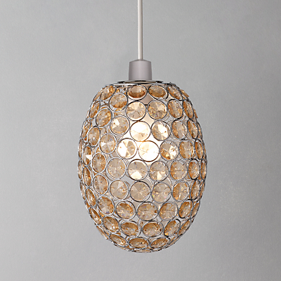 John Lewis Easy-to-fit Adele Pendant Ceiling Light, Natural