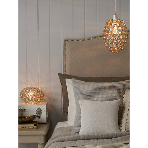 Buy John Lewis Easy-to-fit Adele Pendant Ceiling Light, Natural Online at johnlewis.com