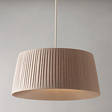 Buy John Lewis Easy-to-fit Audrey Ceiling Lampshade Online at johnlewis.com