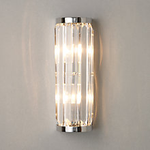Buy John Lewis Quartz Bathroom Wall Light, Tall Online at johnlewis.com