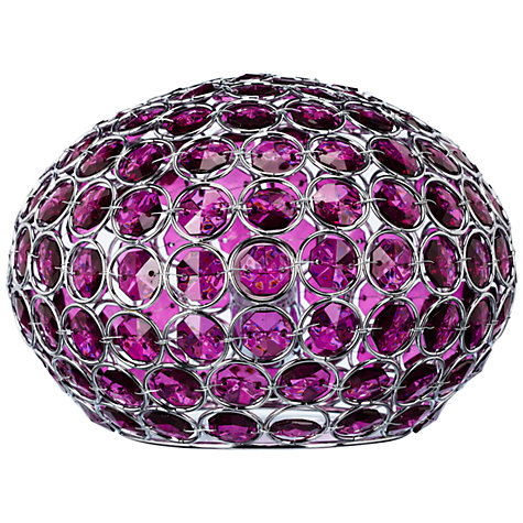 Buy John Lewis Adele Table Lamp, Cassis Online at johnlewis.com