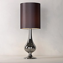 Buy John Lewis Anais Table Lamp, Grey Online at johnlewis.com
