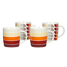 Buy John Lewis Sunset Mugs, Set of 4 Online at johnlewis.com