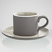 Buy John Lewis Puritan Espresso Cup and Saucer Online at johnlewis.com