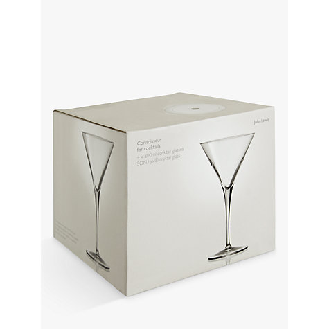 Buy John Lewis Connoisseur Cocktail Glasses, Set of 4 Online at johnlewis.com