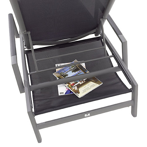 Buy Gloster Azore Stacking Lounger Sling Shelf Online at johnlewis.com