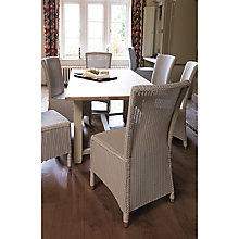 Buy Neptune Chichester 6-Seater Rectangular Dining Table, Limestone Online at johnlewis.com