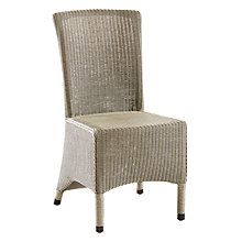 Buy Neptune Havana Lloyd Loom Chair, Pale Stone Online at johnlewis.com