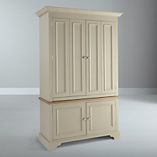 Buy Neptune Chichester Deluxe Workstation, Limestone Online at johnlewis.com