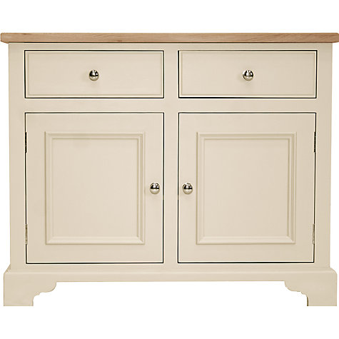 "Buy Neptune Chichester 3ft 6"" Sideboard, Limestone Online at johnlewis.com"