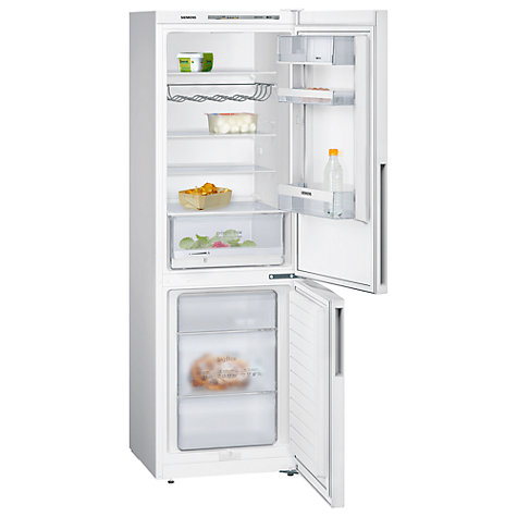 Buy Siemens KG36VVW30G Fridge Freezer, A++ Energy Rating, 60cm Wide, White Online at johnlewis.com