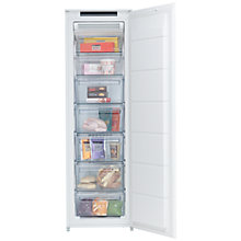 Buy John Lewis JLBIFIC04 Tall Integrated Freezer, A+ Energy Rating, 54cm Wide Online at johnlewis.com
