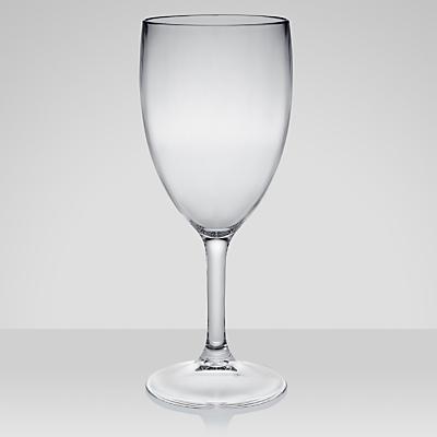 John Lewis Acrylic Wine Glasses, Large, Set of 4