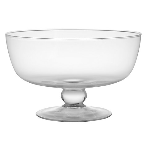 Buy John Lewis Trifle Bowl, Dia. 27cm Online at johnlewis.com
