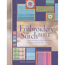 Buy Embroidery Stitch Bible Online at johnlewis.com