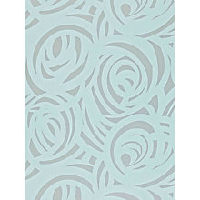 Buy Harlequin Vortex Wallpaper, Duck Egg, 110079 Online at johnlewis.com
