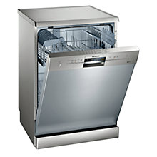 Buy Siemens SN25M831GB Freestanding Dishwasher, Stainless Steel Online at johnlewis.com