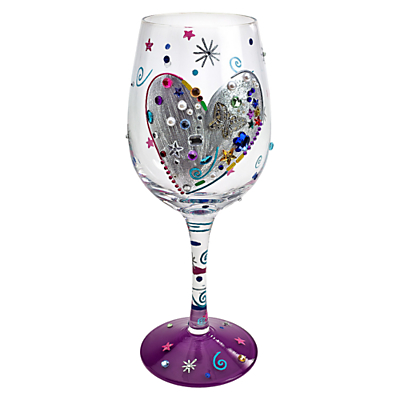 Lolita Silver Lining Wine Glass