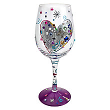 Buy Lolita Silver Lining Wine Glass Online at johnlewis.com